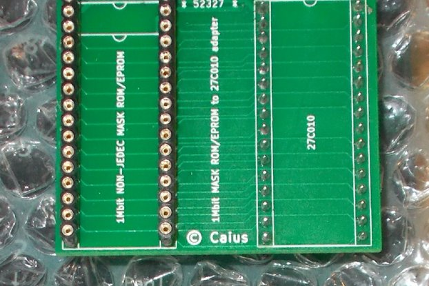 1Mbit MASK ROM/EPROM to 27C010 adapter