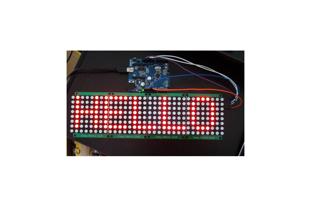 Easy Matrix: A cascadable LED matrix module (Kit) 3