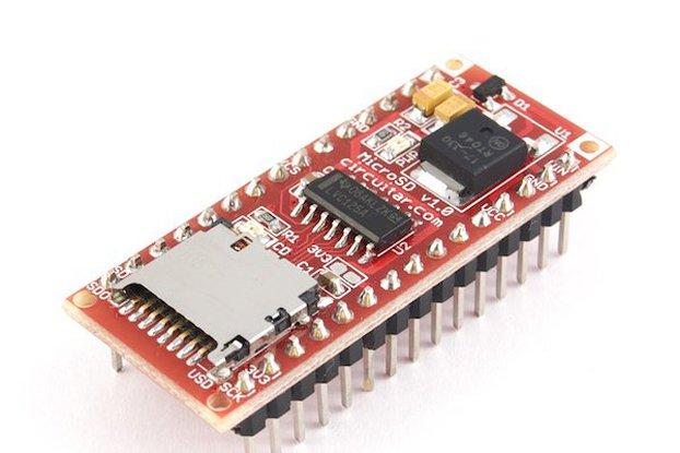 MicroSD Nanoshield