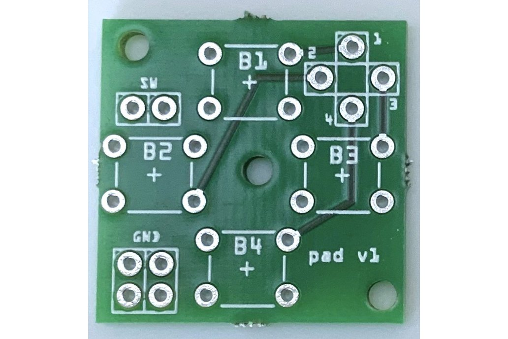 4+1 button breakout board for gaming (Dpad/cursor) 1