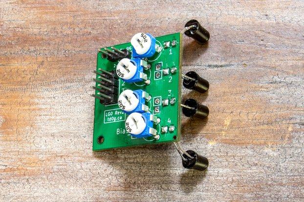 Light Gate Sensor for Ballistic Chronograph