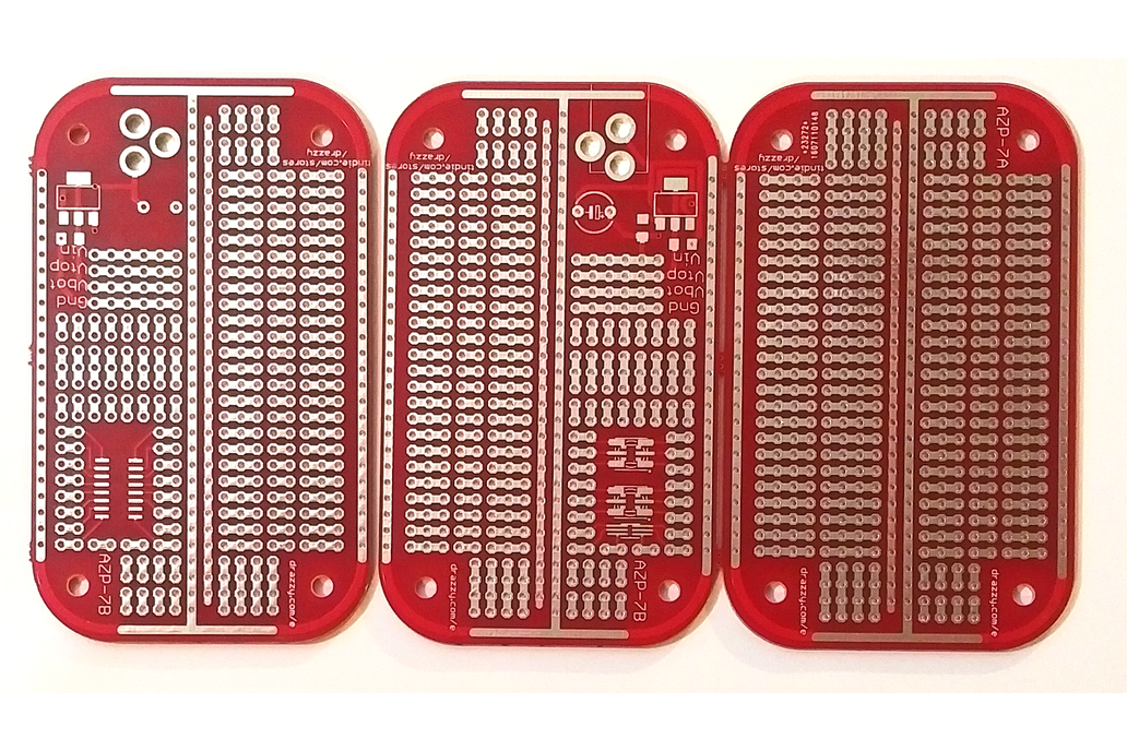 Mint-tin size prototyping board 2