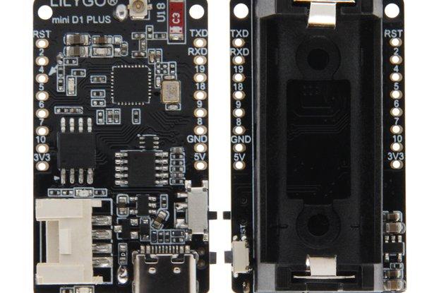 LILYGO® TTGO T-OI PLUS RISC-V ESP32-C3