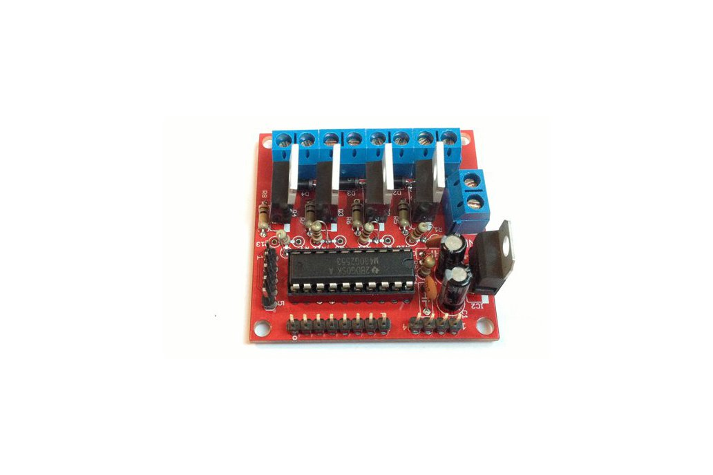 4 channel MOSFET board with MSP430 controller PCB 3