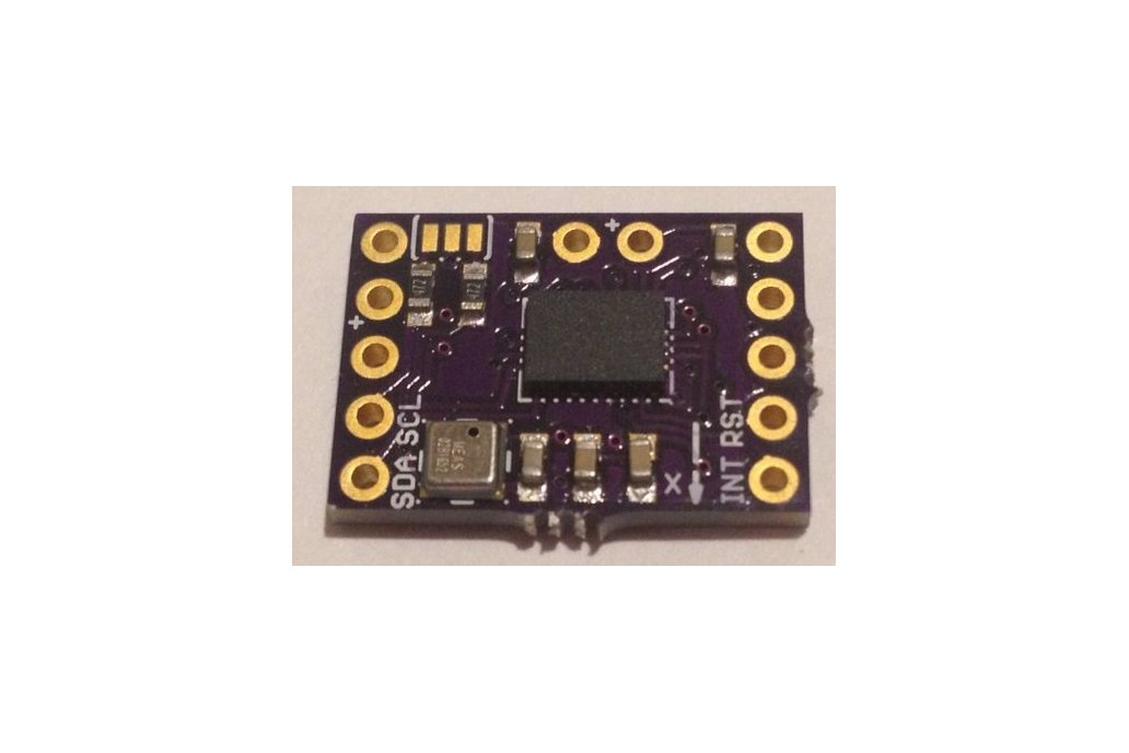 BNO-055 9-axis motion sensor with hardware fusion 3