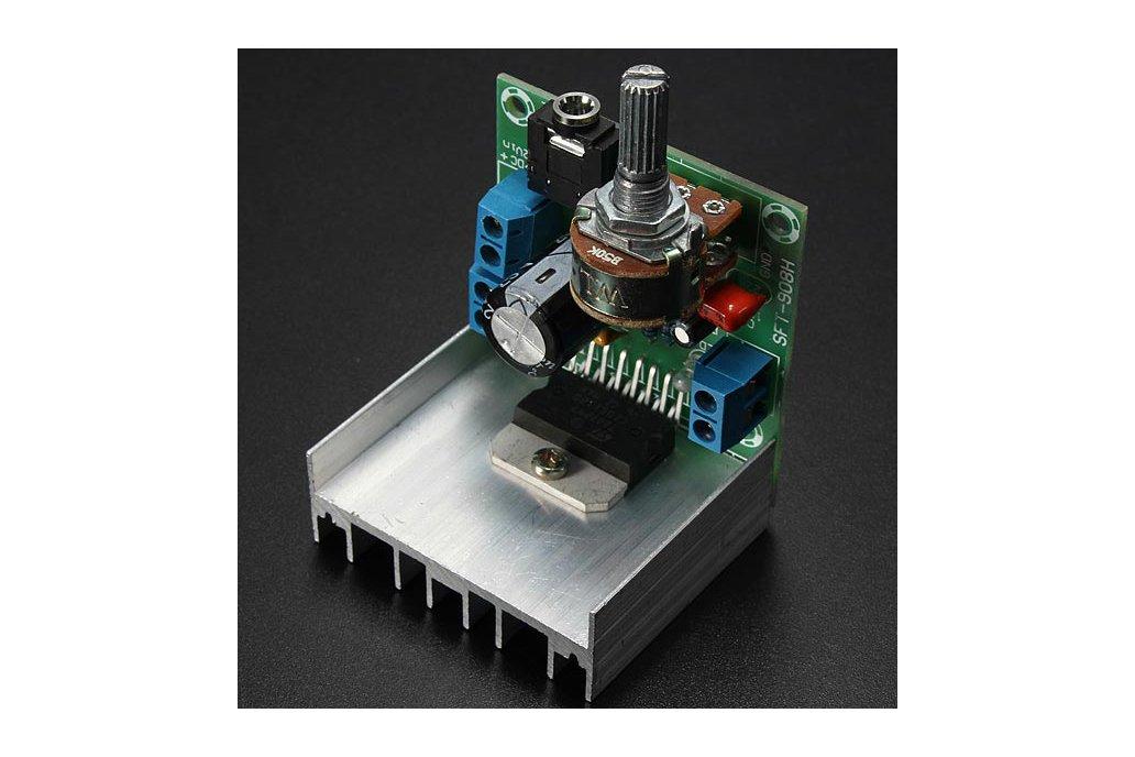 AC/DC 12V 2 x 15W TDA7297 Version B Digital Audio Amplifier Board Dual-Channel 5