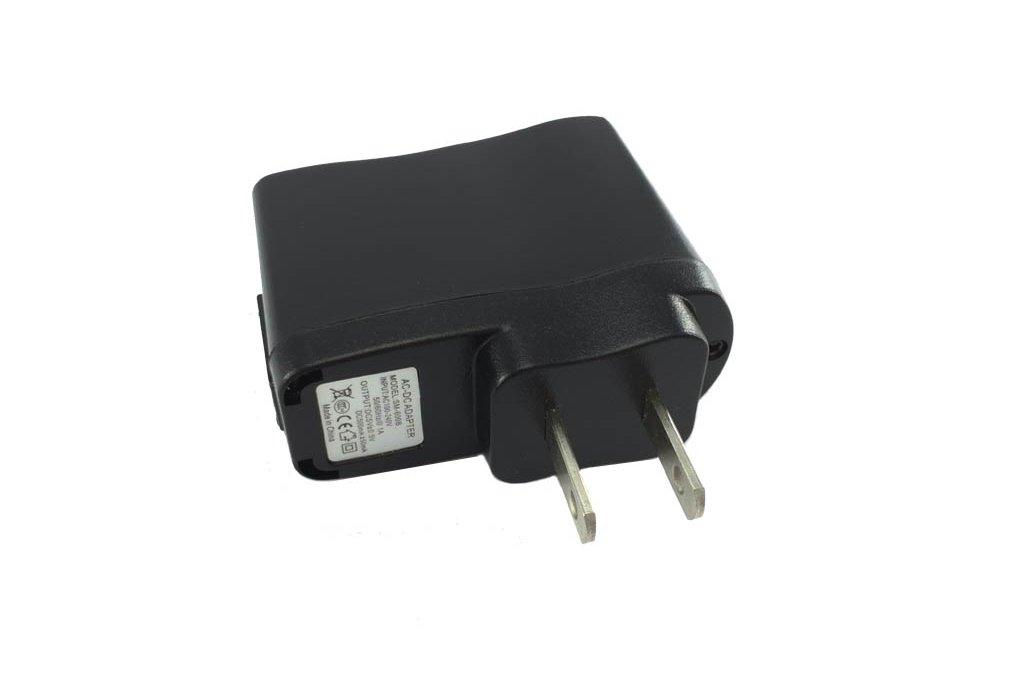Universal AC-DC 5V USB adapter 500mA US-plug 2
