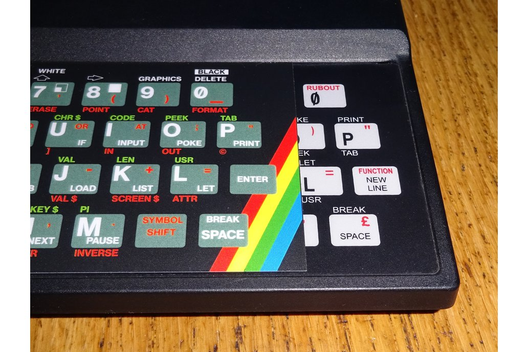 Keyboard Overlays for ZX Max 48 8