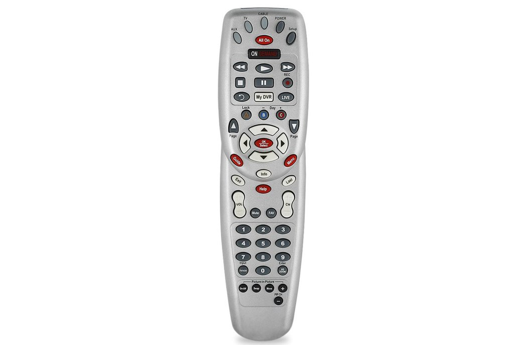 Programmable Infrared Remote Control With Cable 1