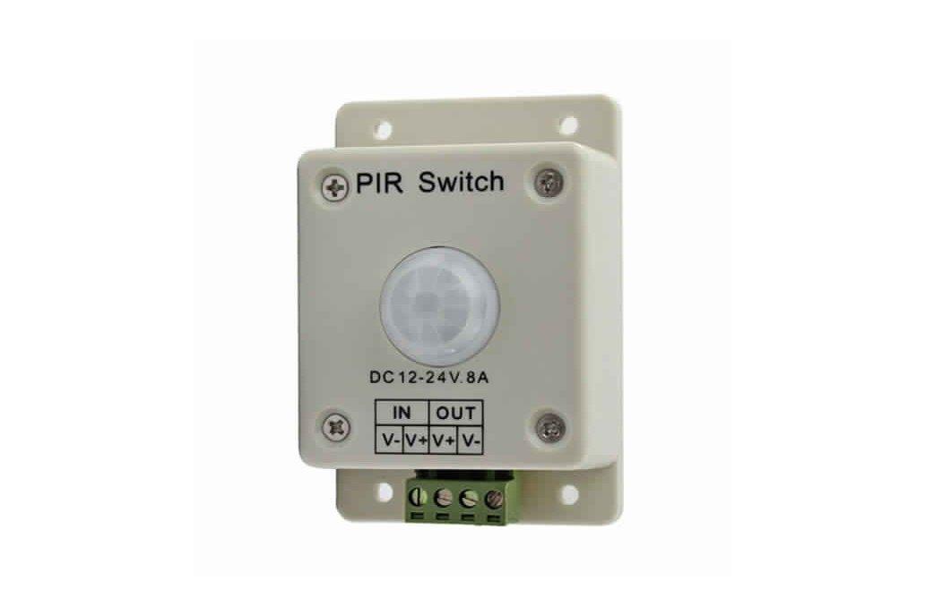 12V-24V infrared PIR Motion Sensor Switch Controll 2