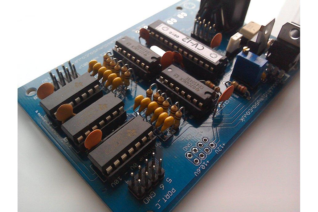 MIDI to CV Converter Kit Midimuso CV12 2