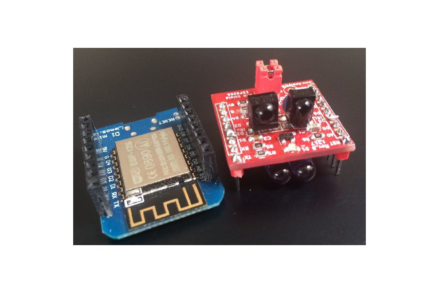 ESP8266/ESP32 TRx, advanced infrared module (IR)