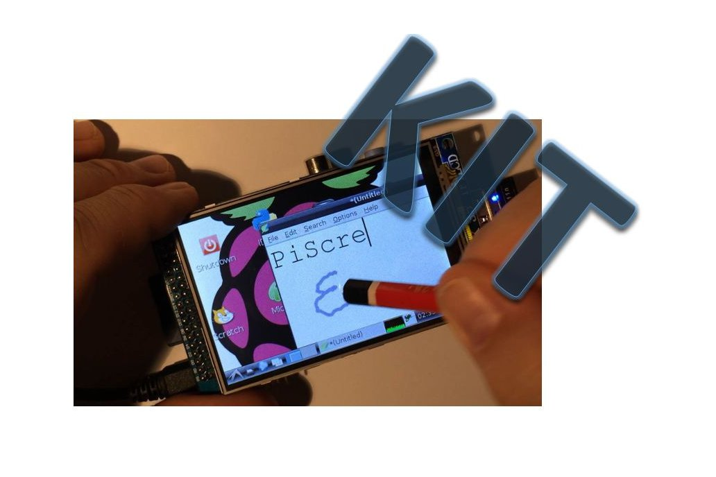 """PiScreenKIT:3.5"""" TFT & touch for the Raspberry Pi 1"""