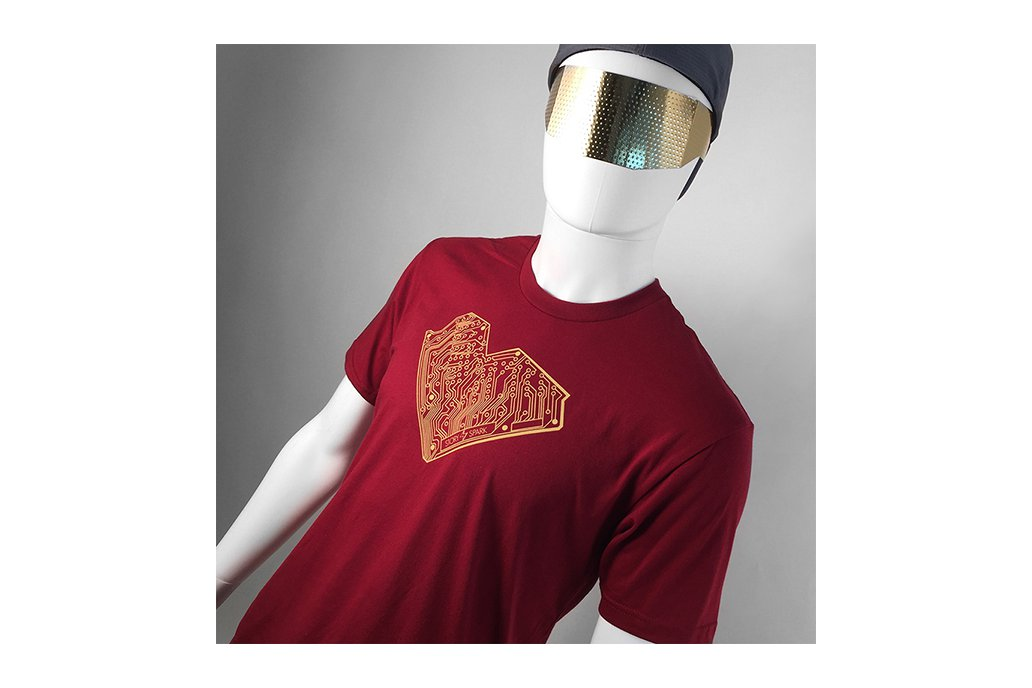 I HEART TECH - Mens Fashion Fitted Graphic T-Shirt 1