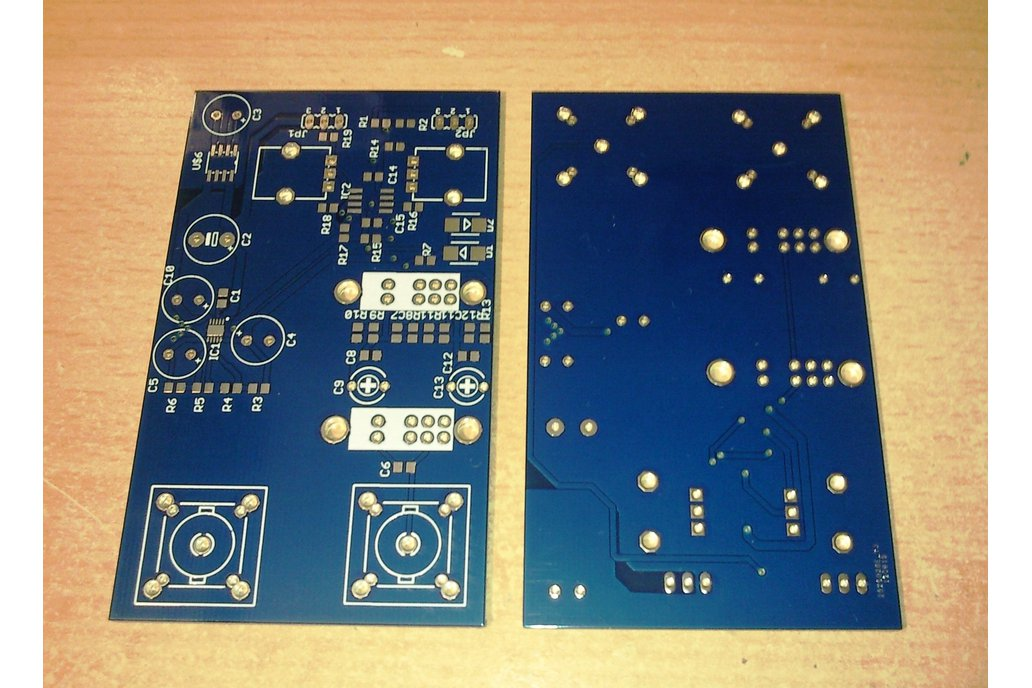 Bare PCB for Analog Front End for Oscilloscope 1