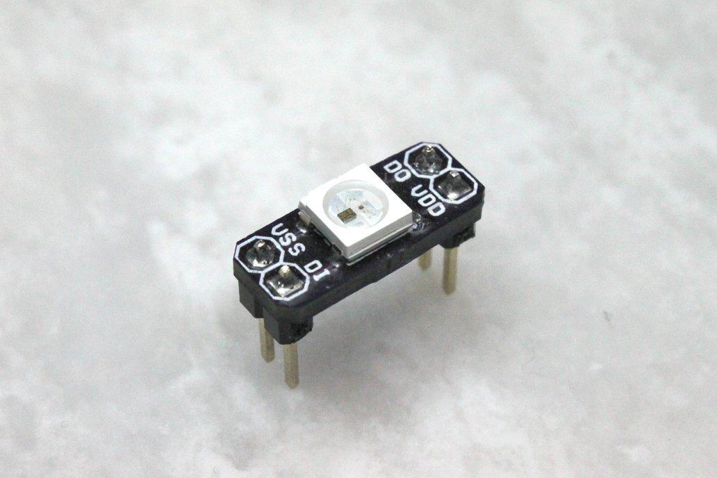 WS2812B smart RGB LED breakout board 1
