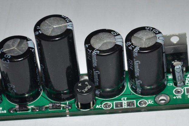 small Audio voltage regulator board