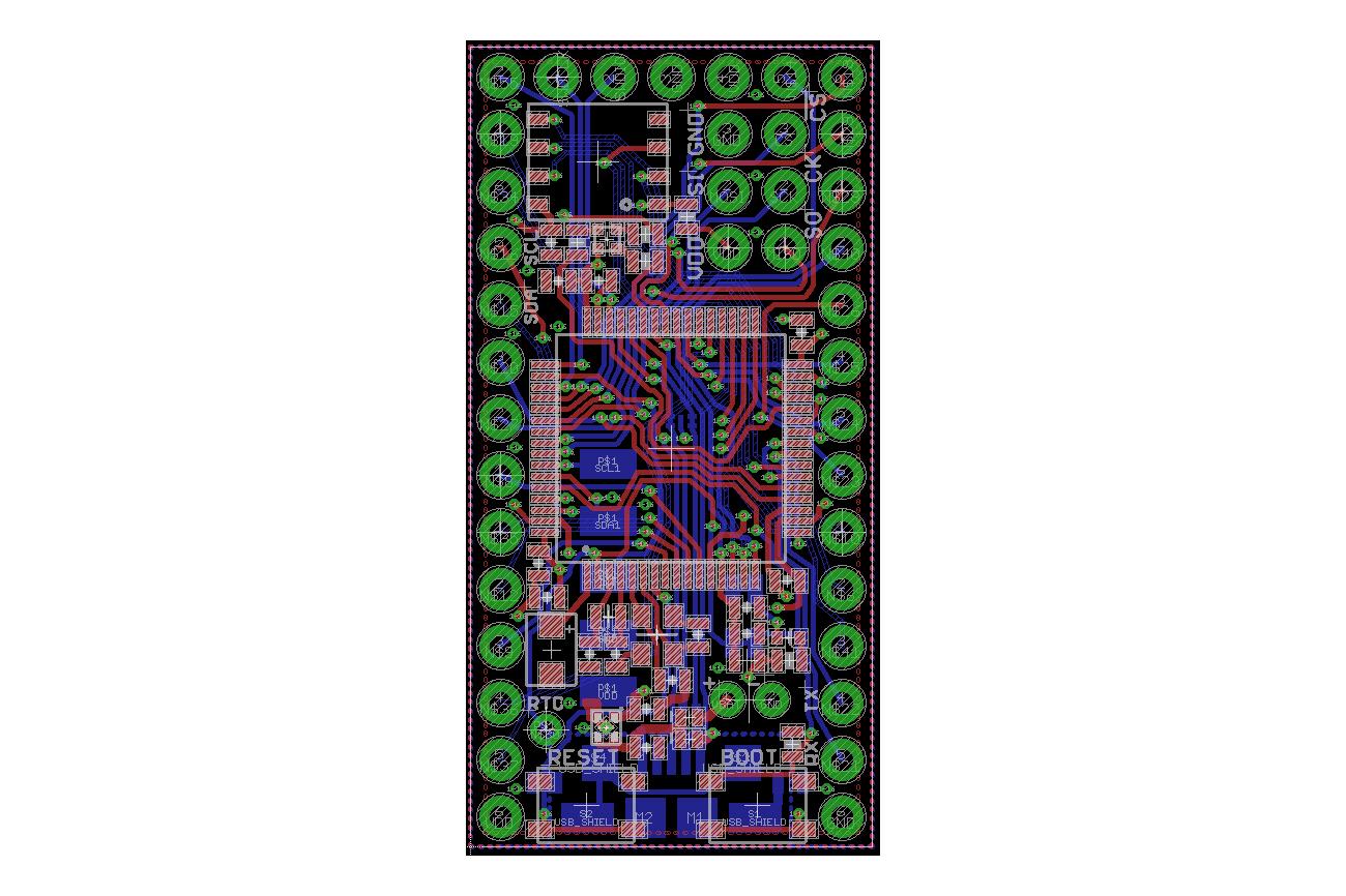 Dragonfly STM32L476/96 Development Board