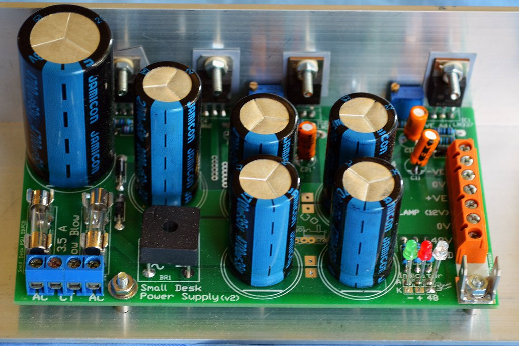 PCB for Mixing desk PSU, equivalent to CPS150 1