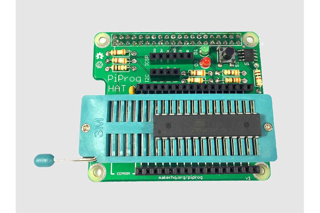 PiProg - Raspberry Pi EEPROM and ICSP Programmer 2