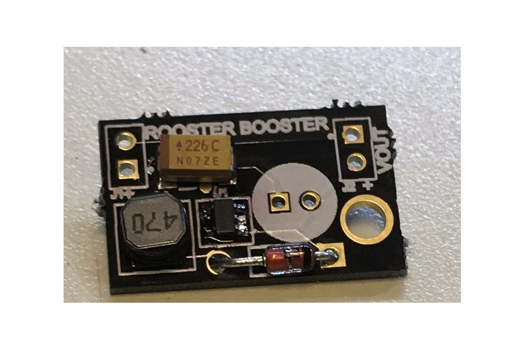 5V low voltage boost regulator 1