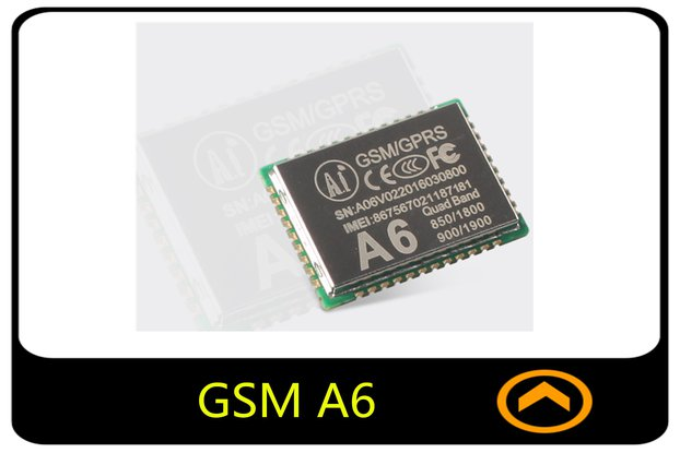 1PCS A6 GSM / GPRS Quad-band Tracking Module
