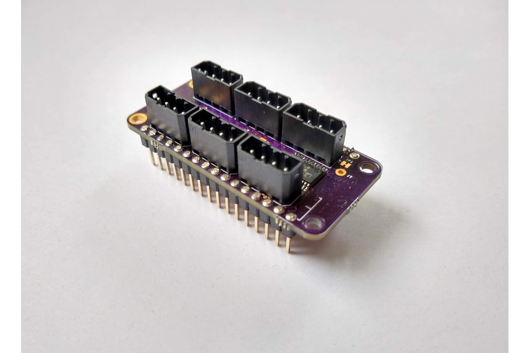 6 Ch 24 bit Full Bridge Sensor FeatherWing 2