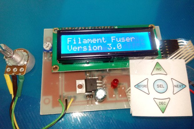Filament Fuser Joiner Controller Version 3.0