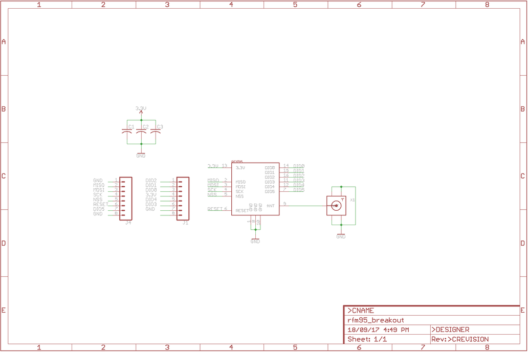 RFM95 LoRa Breakout board 7