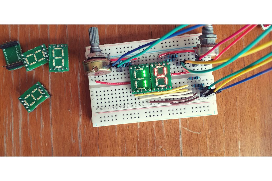 DiY 7-Segment Display Module 1