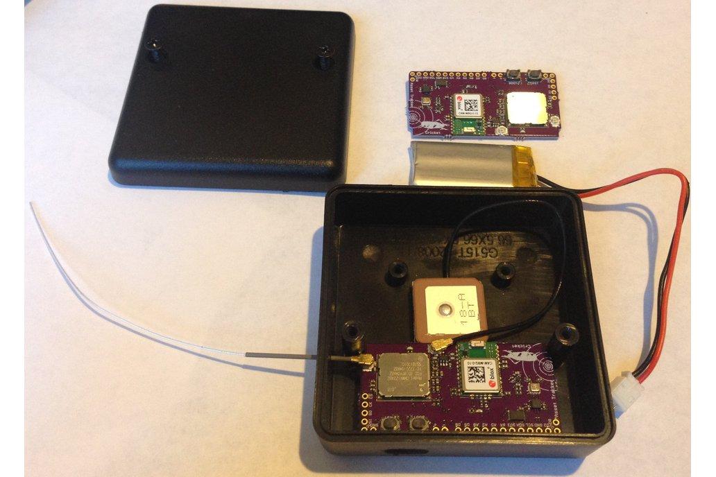 Cricket LoRaWAN/GNSS Asset Tracker 5