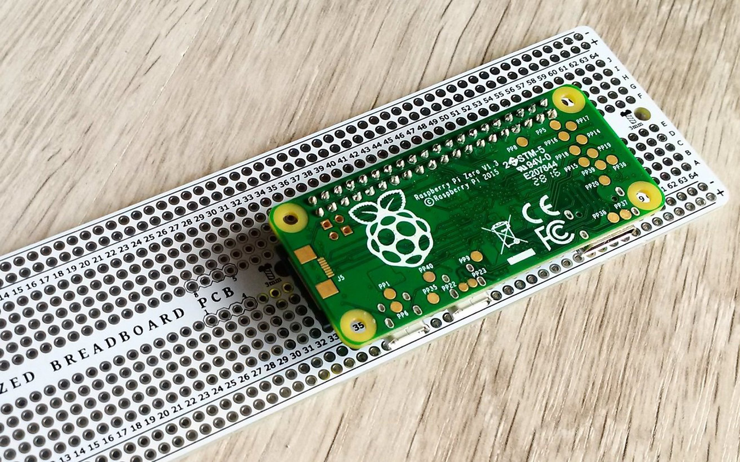 Breadboard Pcb With Raspberry Pi Support From Awesome On Tindie Mini Prototype Printed Circuit Board Free Shipping 1