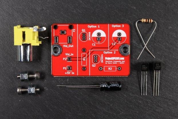 ZX Spectrum 'Flat' Composite Kit