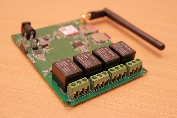VALTALK V1 - GSM DTMF based Relay control board
