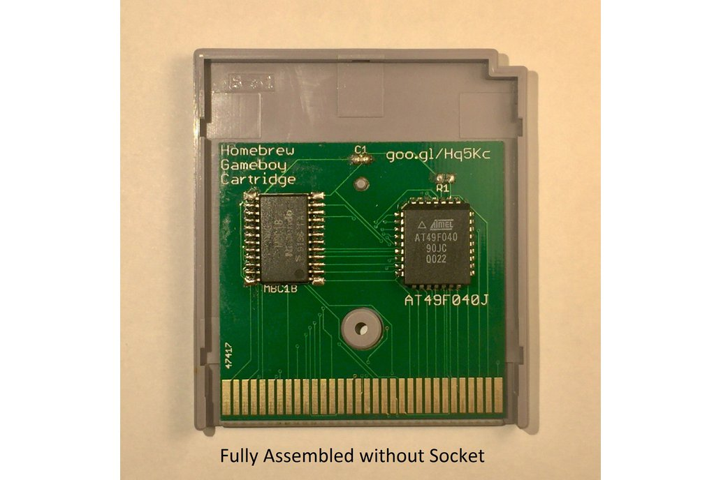 Homebrew Gameboy Cartridge 1