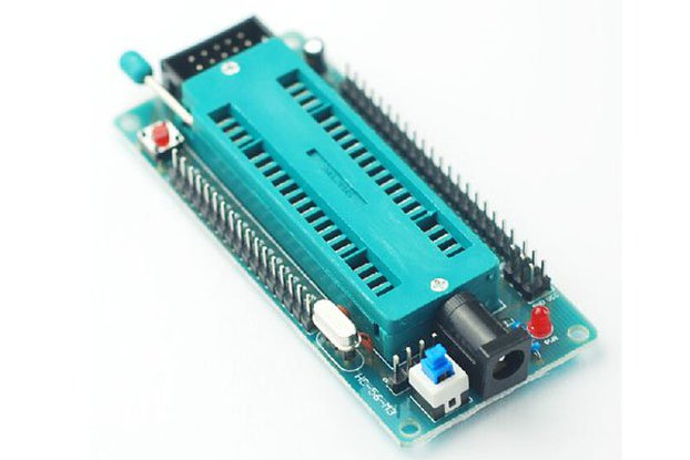 40P clock 51 MCU development board