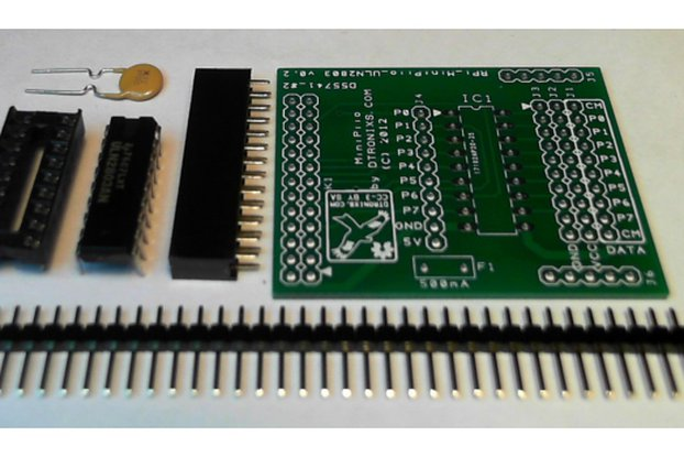 Raspberry PIIO - ULN2803A GVS board (Kit only)