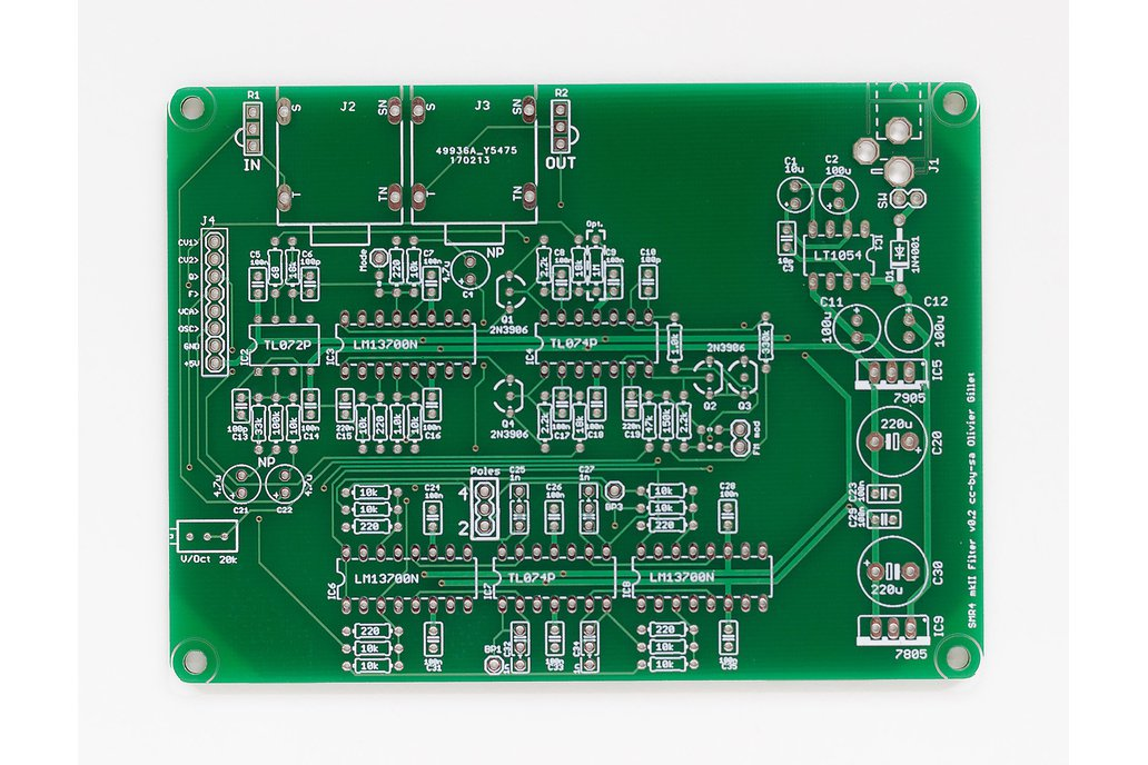 Shruthi SMR4 mkII Filter PCB 1