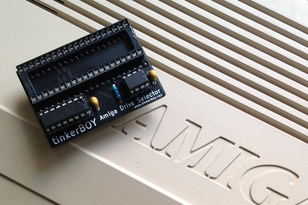 tinkerBOY Switchless Amiga Boot Drive Selector