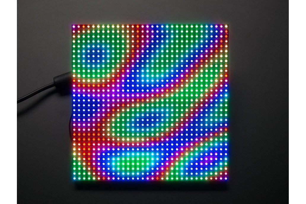 IoT LED display QUICKLY 1