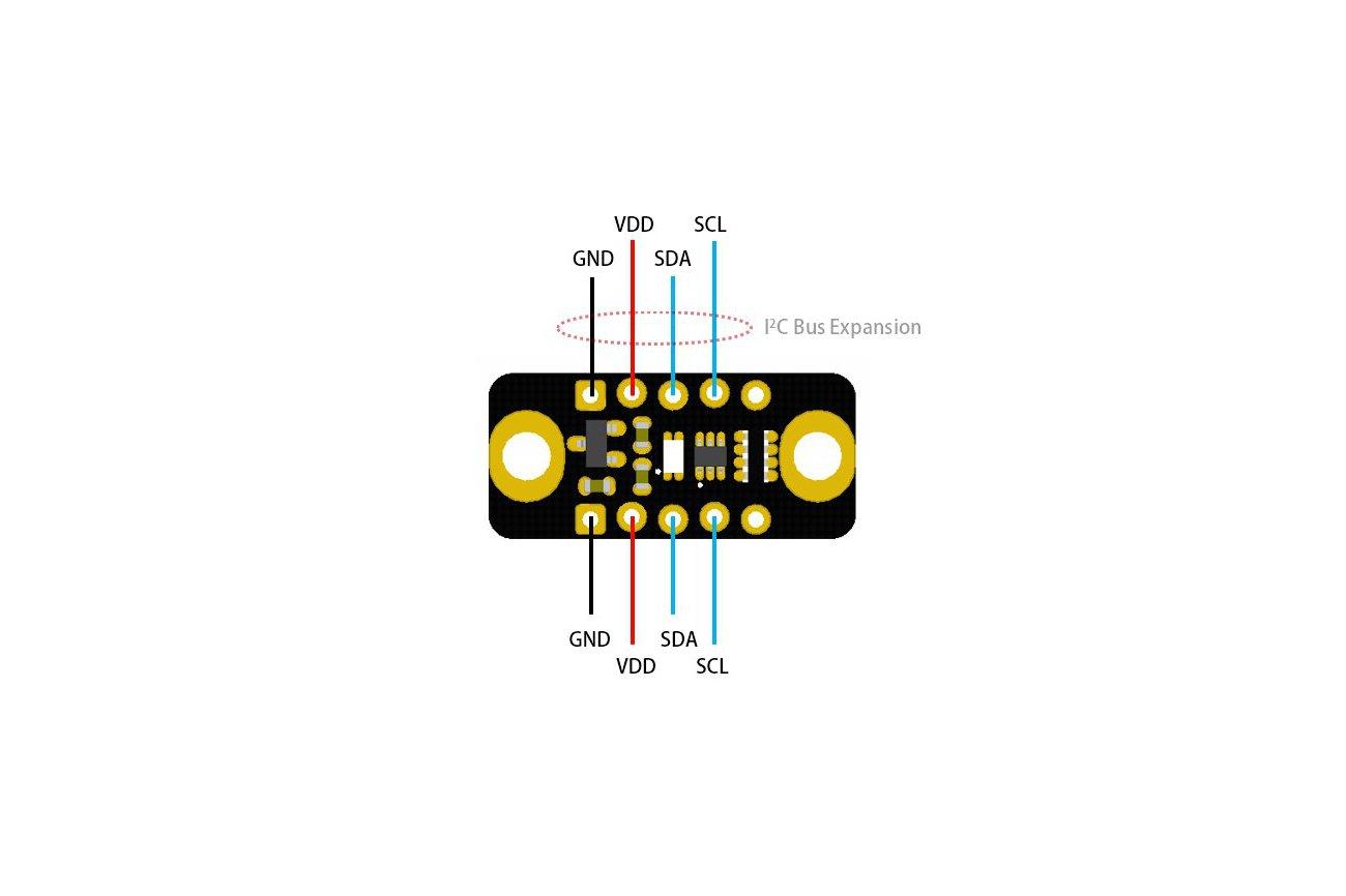 VEML6075 UV AB Light Sensor Module for Arduino