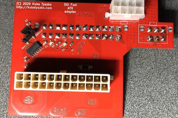 SGI Fuel ATX Power Supply converter - NEW VERSION!