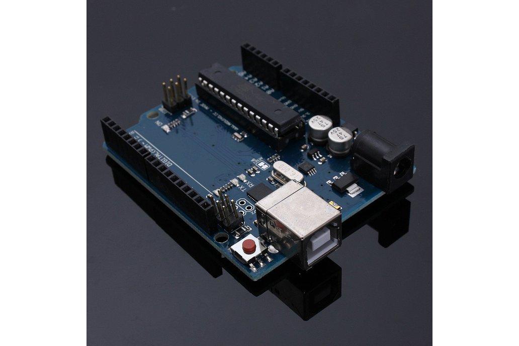 UNO R3 Starter Kit 4 x 4 Keypad LCD1602 Servo 2