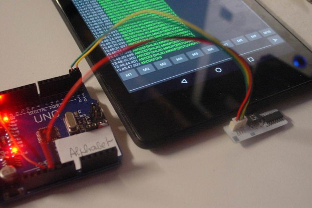 UART to USB OTG for your tablet or iPhone