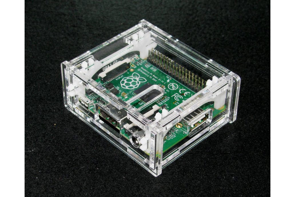 Clear Raspberry Pi A+ Case 1