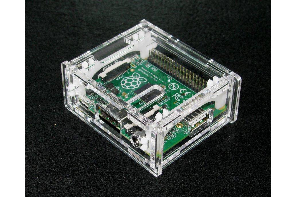 Clear Raspberry Pi A+ Case 1