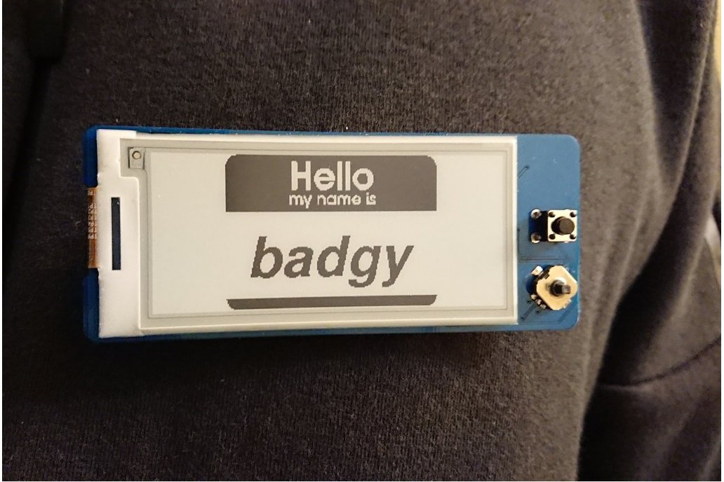 Badgy - IoT Badge 8