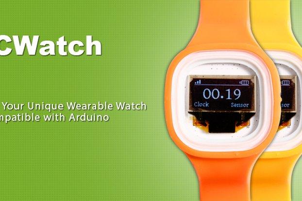1PCS ICWatch Watch for Arduino Yellow(5224)