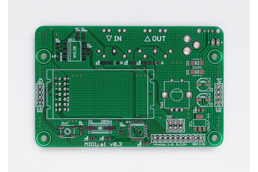 MIDIpal Midi Processor PCB 2