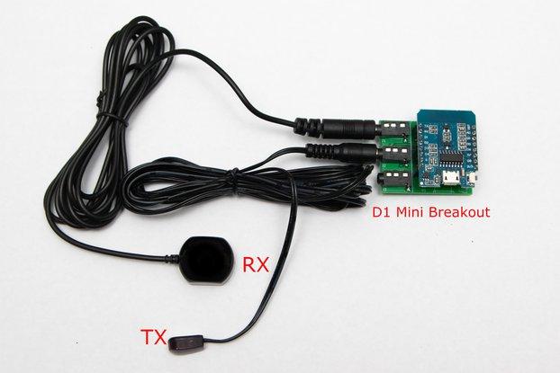 ESP8266 D1 Mini IR Infrared Breakout